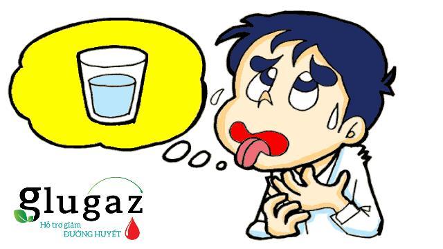 Khát nước là một trong những dấu hiệu nhận biết tiểu đường đặc trưng
