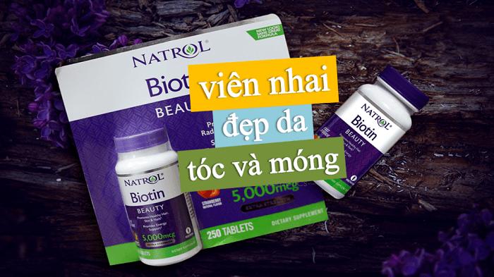 Một trong những sản phẩm chuyên biệt BIOTIN giúp tốt cho da, móng và tóc