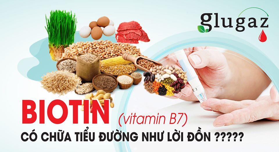 Biotin có chữa tiểu đường như lời đồn ???
