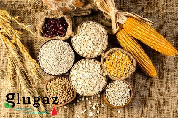 Nhóm khoai củ, ngũ cốc và chất đường bột