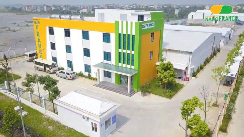 Hình ảnh nhà máy sản xuất dược phẩm công nghệ cao Nanofrance 15,000m2