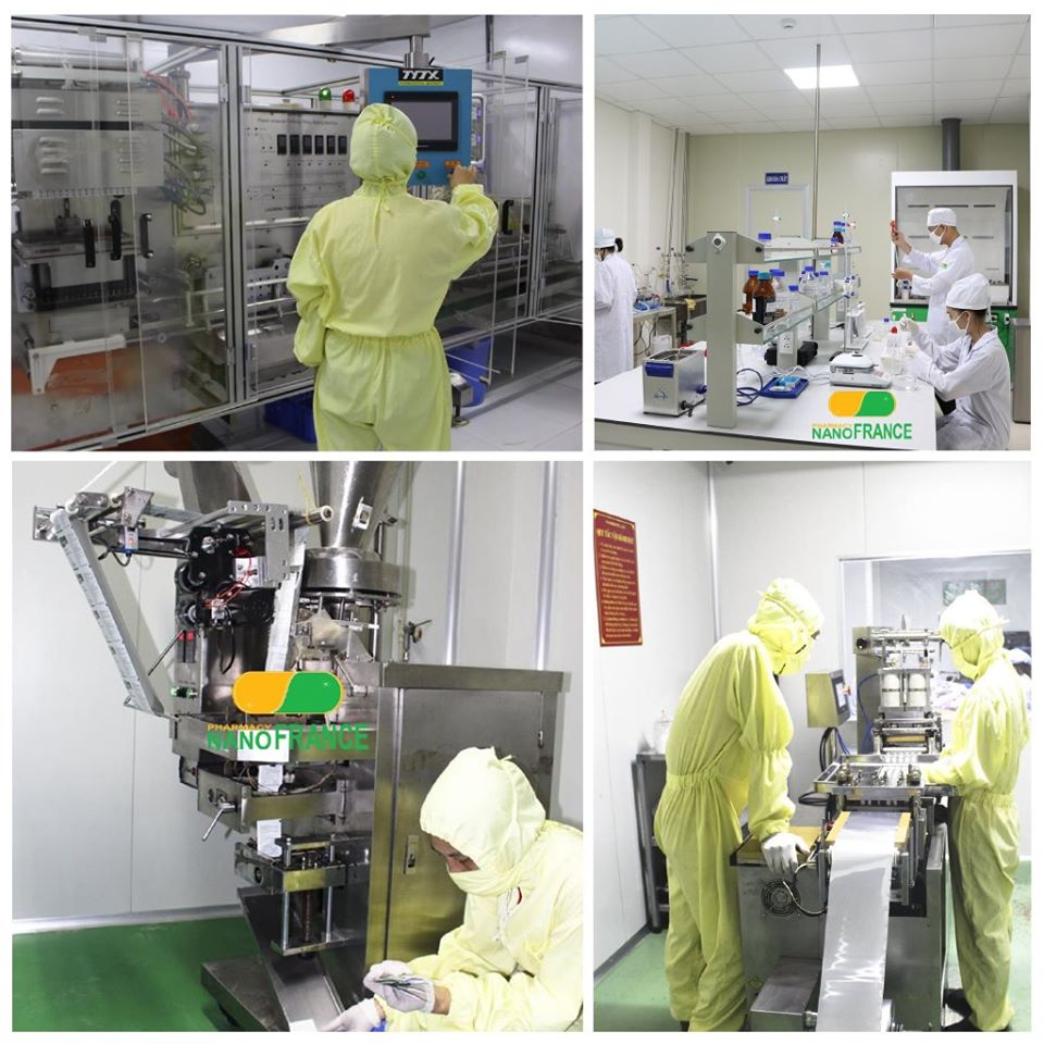 Dây chuyền sản xuất Trà Glugaz hiện đại và chuyên nghiệp