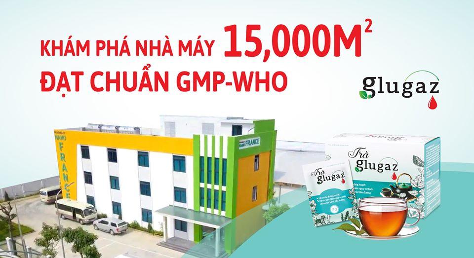 Nhà máy 15,000m2 đạt chuẩn GMP-WHO